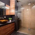 custom built shower enclosure